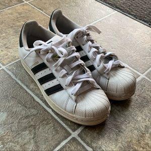 Adidas superstar shelltoe sneakers